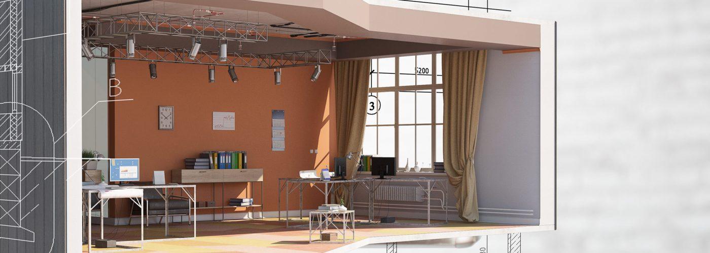 Rendering 3D Roma centro